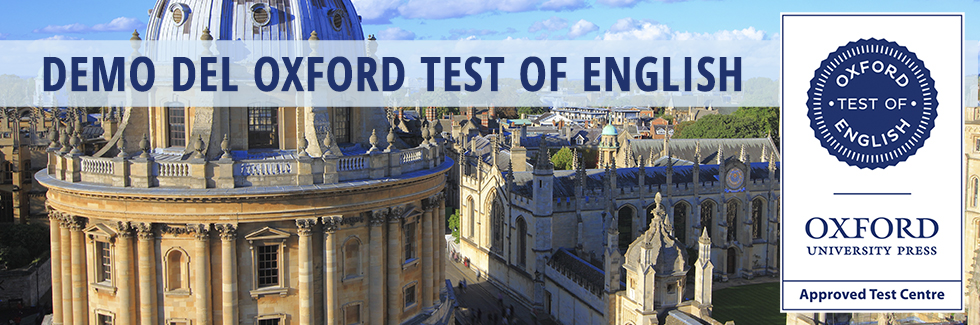 Demo del Test Of English (OTE)